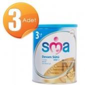 SMA Gold 3 Devam Sütü (Bebek Maması) 900 gr 3 Adet