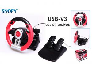 USB-V3 Büyük Pedal Direksiyon Snopy