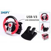 Snopy USB-V3 Büyük Pedal Direksiyon