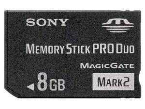 MemoryStick PRO Duo 8GB (MSMT8G) Sony