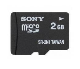 MicroSD 2GB SR2N1 Sony
