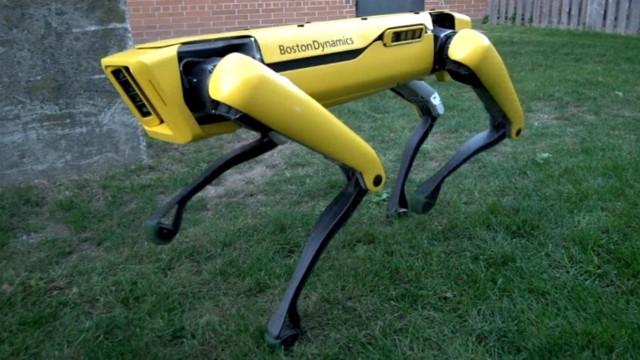 SpotMini Robot Kapıları Açıyor!