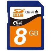Team SDHC Class 6 8GB TMSD8GC6