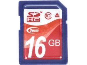 Secure Digital 16GB Class 10 (TMSD16GC10) Team