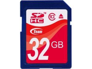 SecureDigital 32GB Class 10 (SDHC) Team