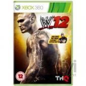 THQ WWE Smackdown vs Raw 2012 Xbox 360