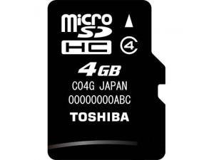 MicroSDHC 4GB Toshiba