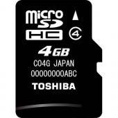 Toshiba MicroSDHC 4GB