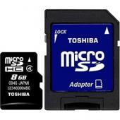 Toshiba MicroSDHC 8GB Class 4