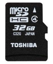 SD-C32GJ-BL5A 32GB Toshiba