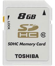SD-K08CL10-BL5 8GB Toshiba