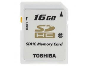 SDHC 16GB Class 10 Toshiba