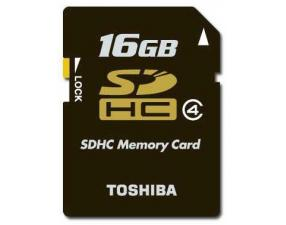 SDHC 16GB Class 4 Toshiba