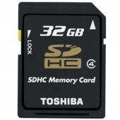 Toshiba SDHC 32GB Class 4