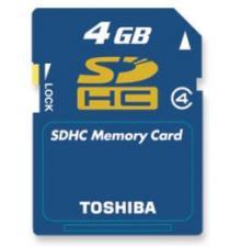 SDHC 4GB Toshiba