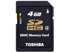 SDHC 4GB Class 4 Toshiba