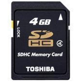 Toshiba SDHC 4GB Class 4