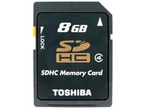SDHC 8GB Class 4 Toshiba
