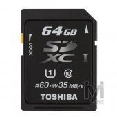 Toshiba SDXC 64GB Class 10