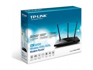 TP-Link Archer VR400 1200Mbps Gigabit VDSL/ADSL2+ + RE200 750Mbps Kablosuz AC Dual Band Menzil Genişletici