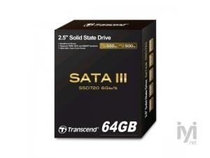 64GB SATA3 MLC TS64GSSD720 Transcend