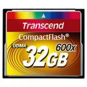 Transcend Compact Flash 32GB 600X (CF)