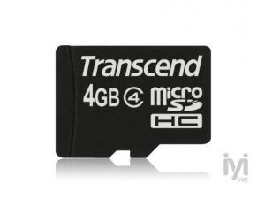 MicroSDHC 4GB Class 4 Transcend