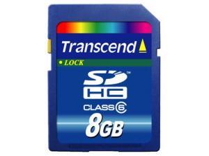 SDHC 8GB Class 6 (TS8GSDHC6) Transcend