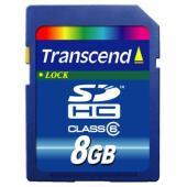 Transcend SDHC 8GB Class 6 (TS8GSDHC6)