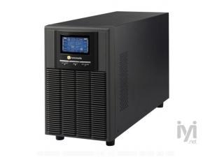 2KVA, Online, 4 Adet 12V 9AH Akü, 4-10 Dk , LCD UPS, Siyah (ARN_NEWTECH-ECO-2KVA) Tuncmatik