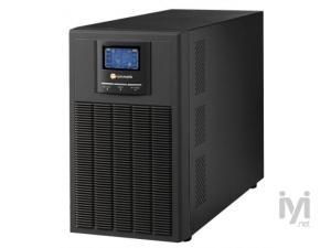 6KVA, Online, 8 Adet 12V 10AH Akü, 3-8 Dk , LCD UPS, Siyah (ARN_NEWTECH-ECO-6KVA) Tuncmatik