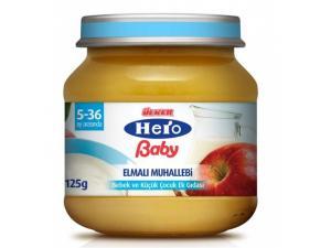 Hero Baby Elmalı Muhallebi 125 Gr Ülker Hero Baby
