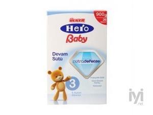 Hero Baby Nutradefense Devam Sütü 3 900 Gr Ülker Hero Baby