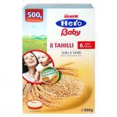 Ülker Hero Baby Hero Baby Sütlü 8 Tahıllı 500 Gr