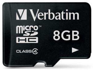 microSDHC 8GB Verbatim