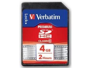 SDHC 4GB Class 10 Verbatim