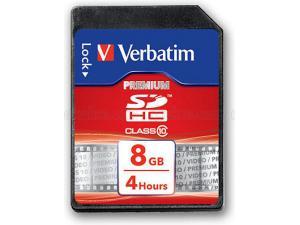 SDHC 8GB Class 10 Verbatim