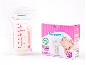 30 Lu Süt Saklama Poşeti Weewell