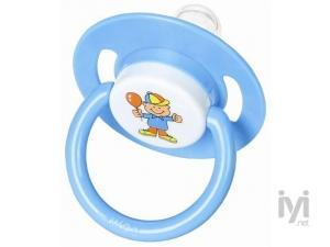 Baby Silikon Yuvarlak Gövdeli Emzik Askılı(0-6 ay) (AB_8575) Weewell
