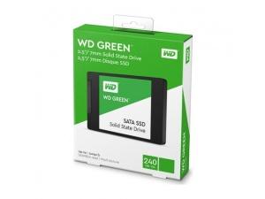 Western Digital 240 GB 2.5 SATA3 SSD 545MB/S 3DNAND WDS240G2G0A