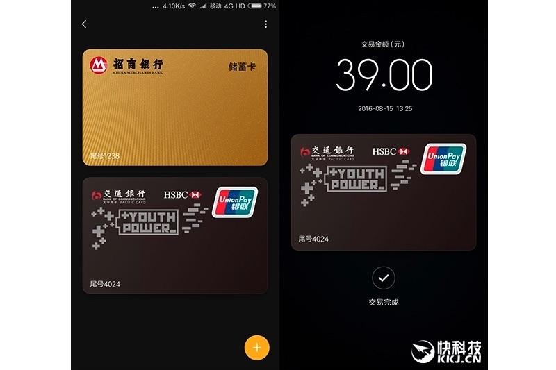 Xiaomi Mi Pay Servisini Duyurdu